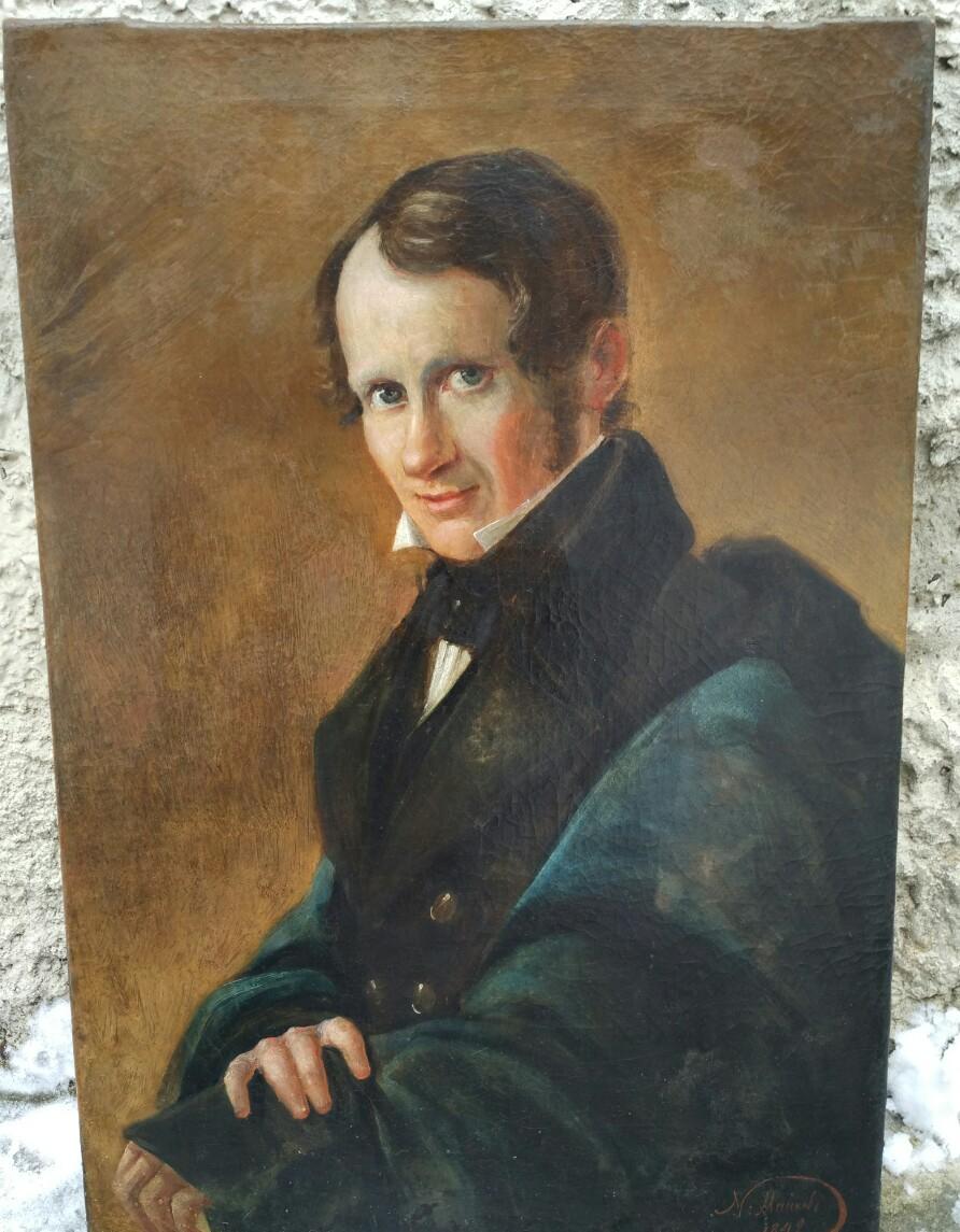 Портрет отца поэта Н.Кукольника