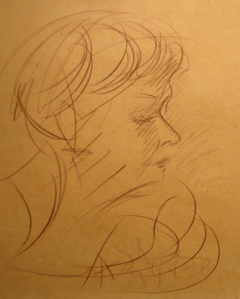 Женский портрет 4