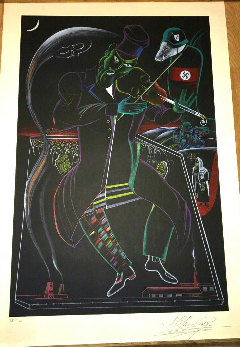 по произведениям М.Шагала