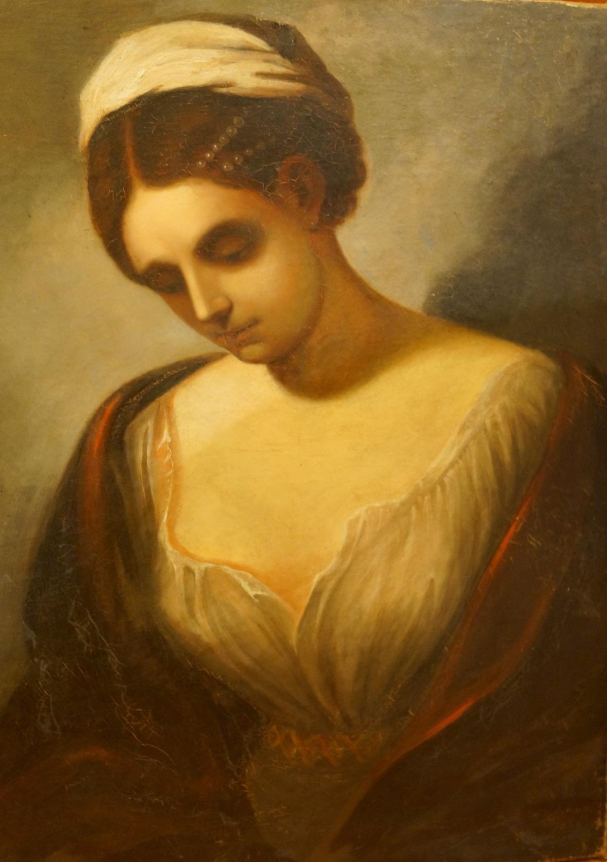 Портрет девушки (Барбизонская школа)