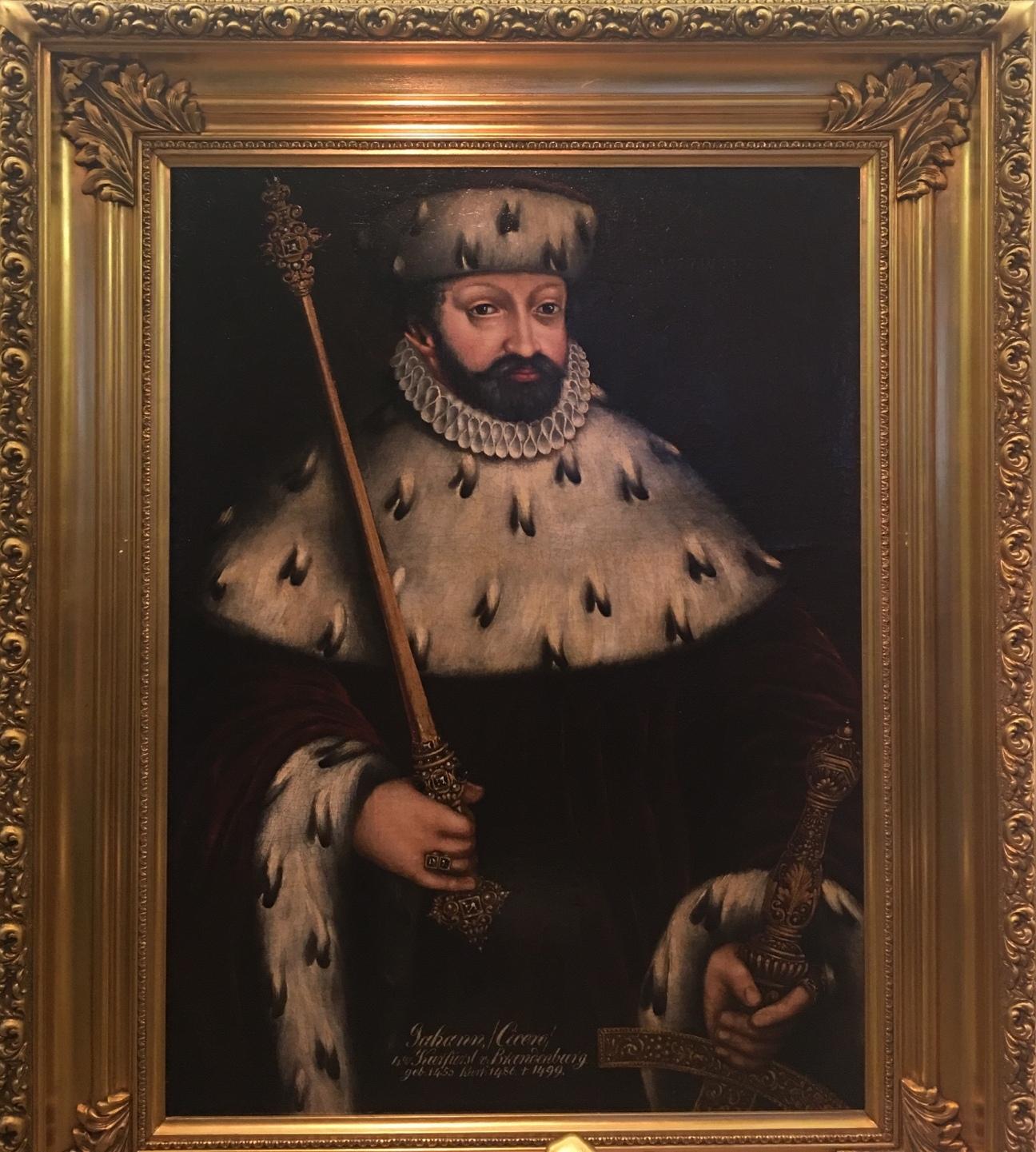 Портрет Йохана Цицирона кюрфюста Бранденбургского