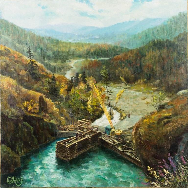 ГЭС на реке Кайра