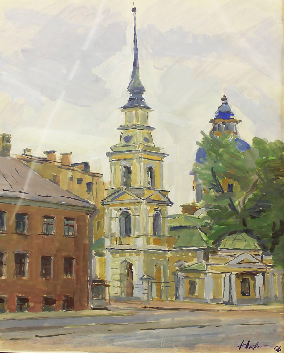 Церковь Симеона и Анны в Санкт-Петербурге. Моховая 48
