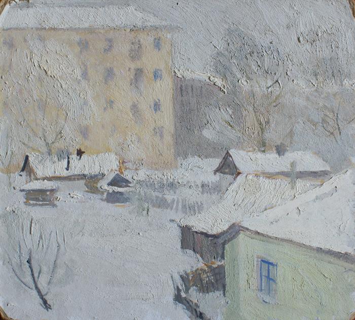Зимний город 2