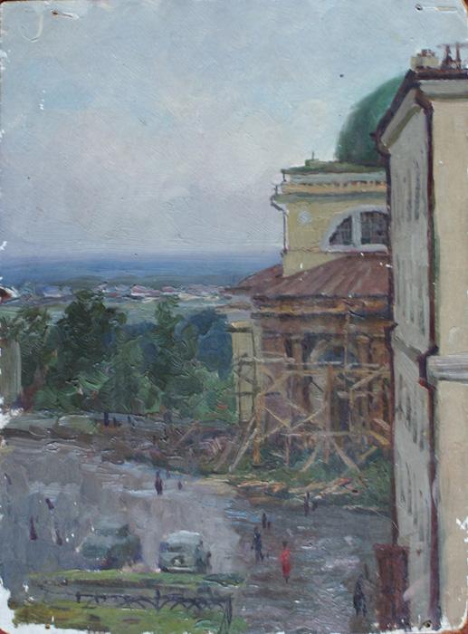 Ремонт Христорождественского собора. г.Липецк