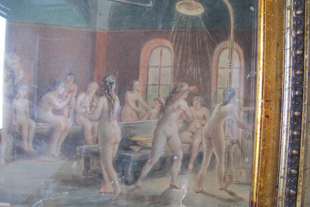 Женская баня в мукая