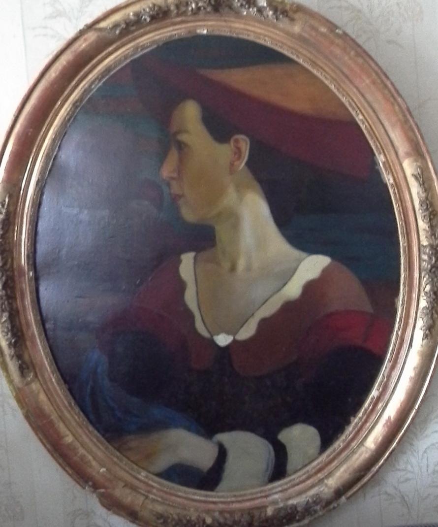 Портрет жены Натальи Агапьевой