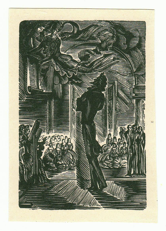 Иллюстрация /А.С.Пушкин. Египетские ночи/