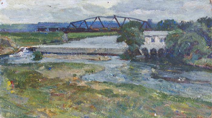 г. Данков. Старая электростанция на реке Дон