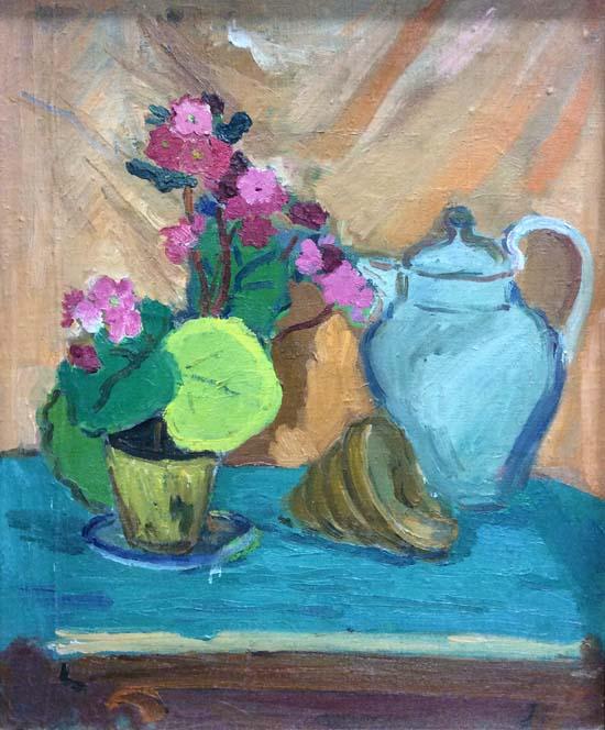 Натюрмотр с цветами
