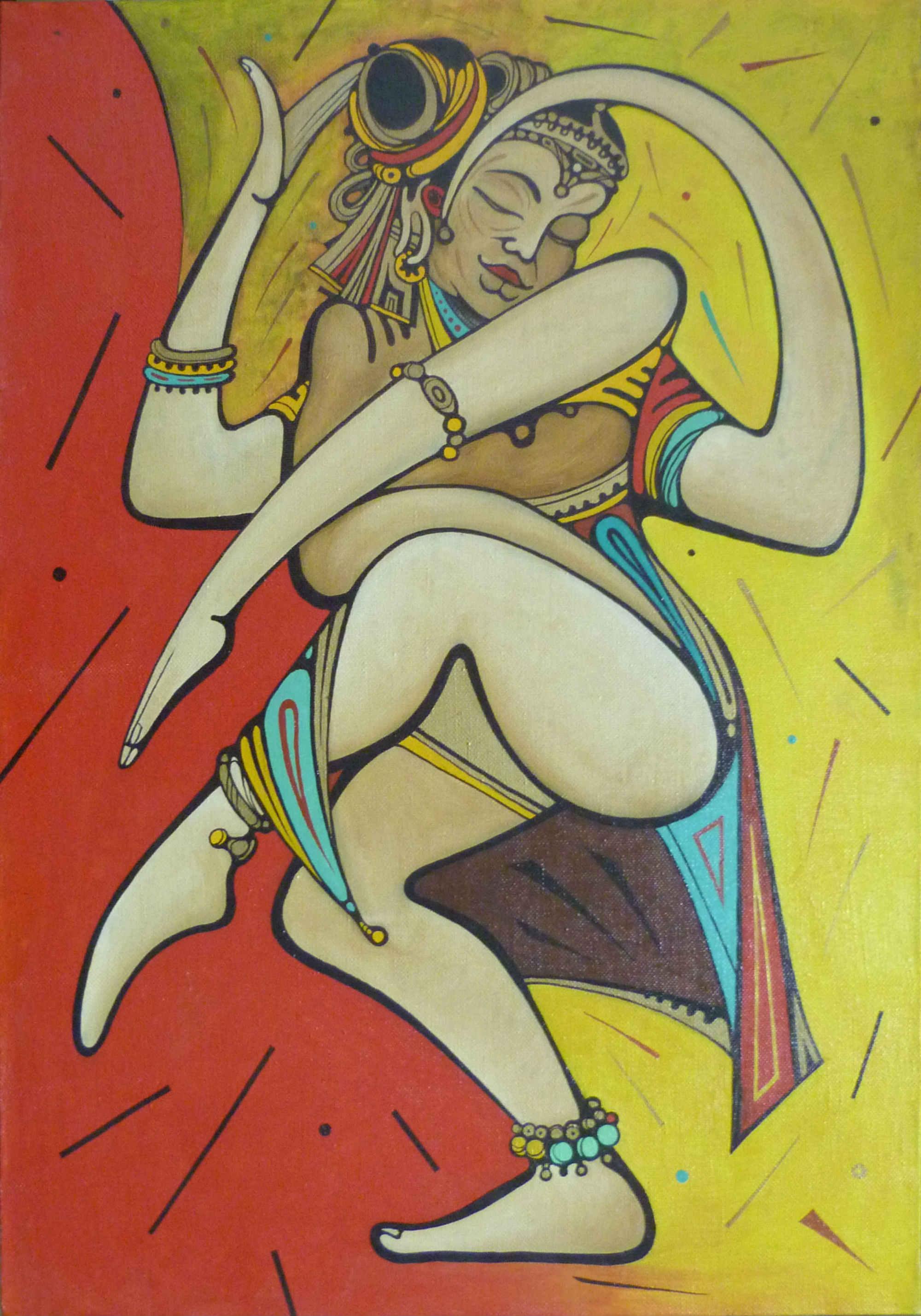 Танец. Шива