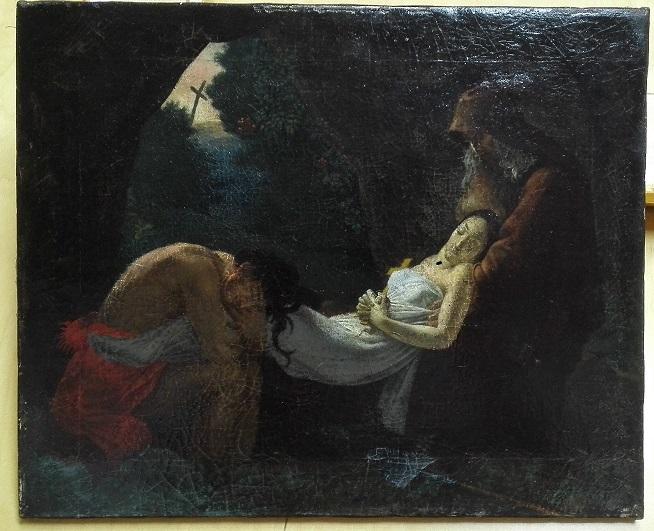 Погребение Аталы (копия картины А.-Л. Жироде-Триозона)