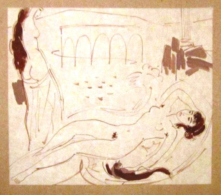 Отдых (в саду Афродиты)