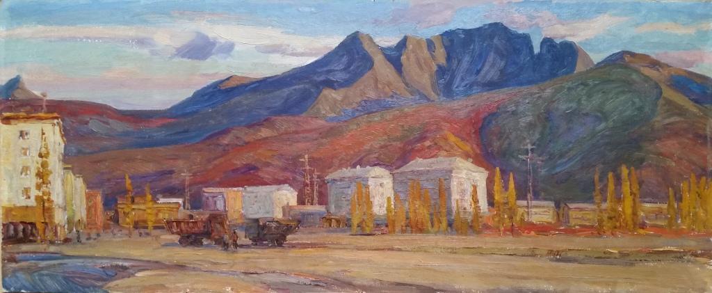Синегорье.Поселок гидростроителей