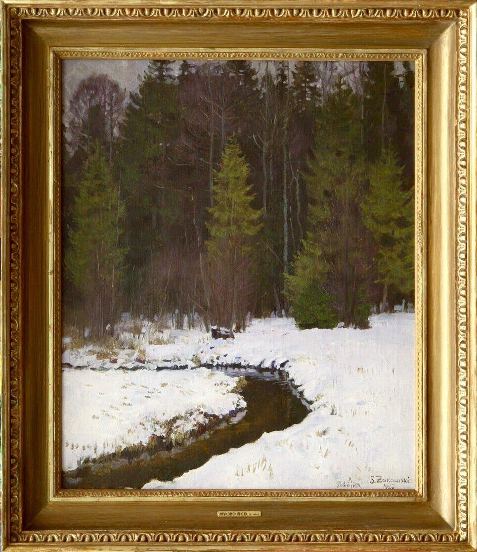Первый снег. Беловежская пуща.