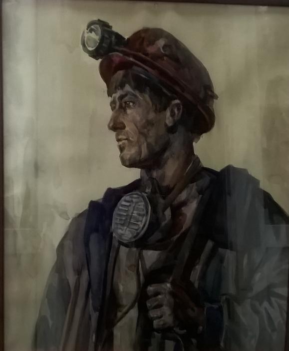 Портрет шахтера