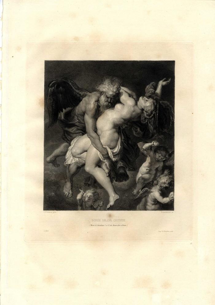 Похищение Бореем Орифии