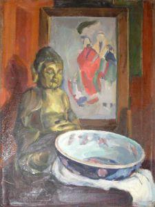 Натюрморт с Буддой.