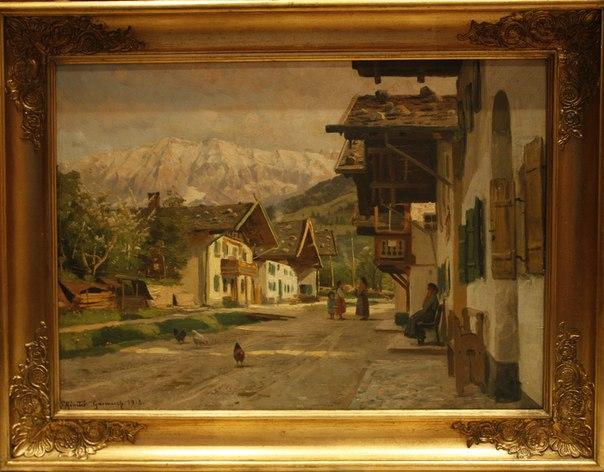 Селенье Гармиш в предгорье Баварских Альп