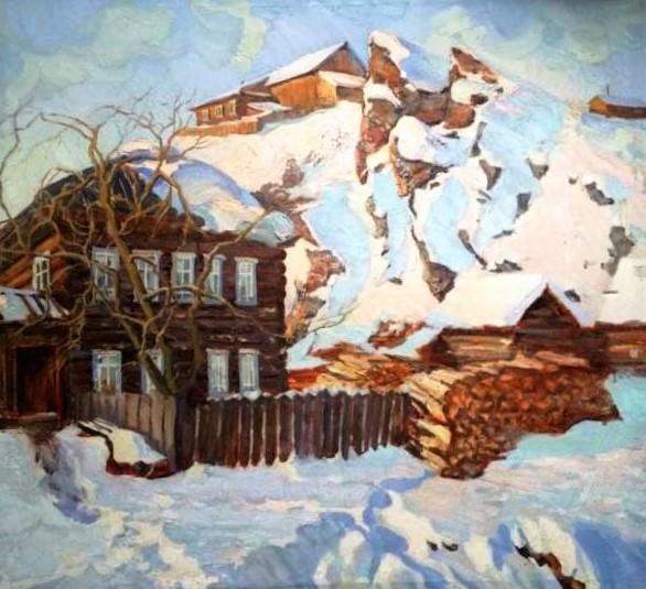 Село Кын. Урал