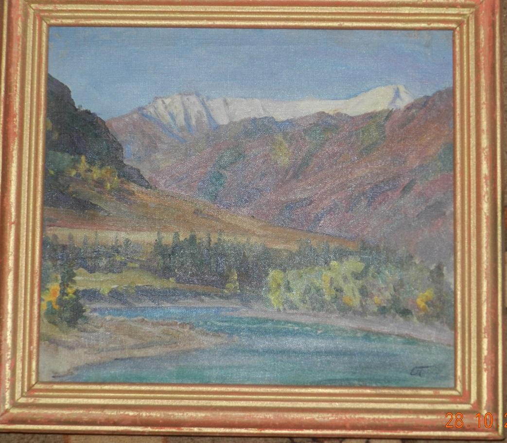 Алтай. Осень на реке Катунь.