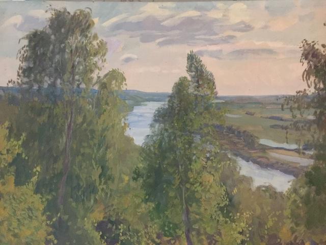 Река в Подмосковье
