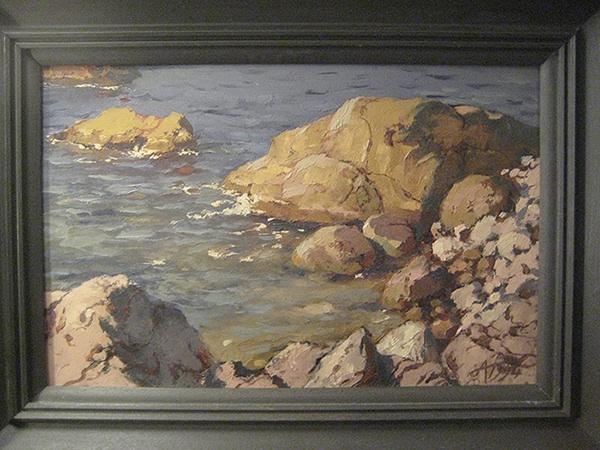 Каменный берег