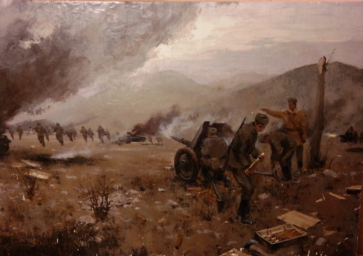 Артиллерийская атака
