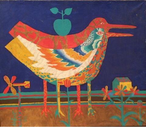 Птицы с яблоком
