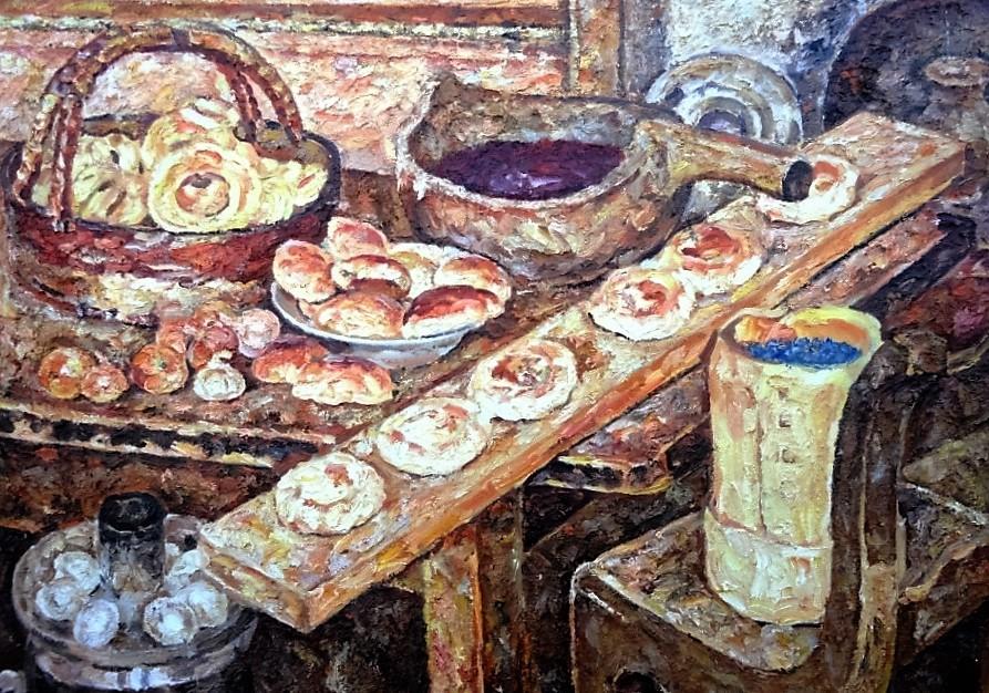 Натюрморт с пирогами