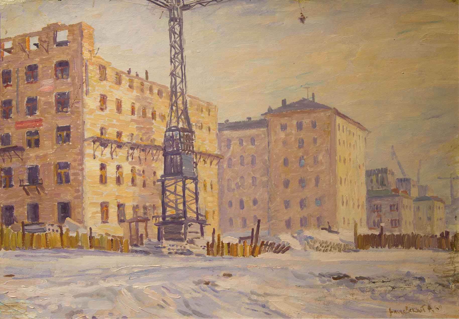 Московская стройка