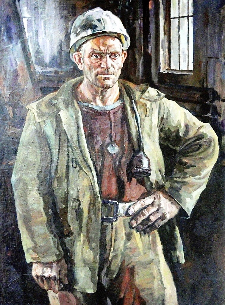 Воркутинский шахтер