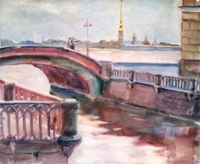 С-Петербург.Петропавловская крепость