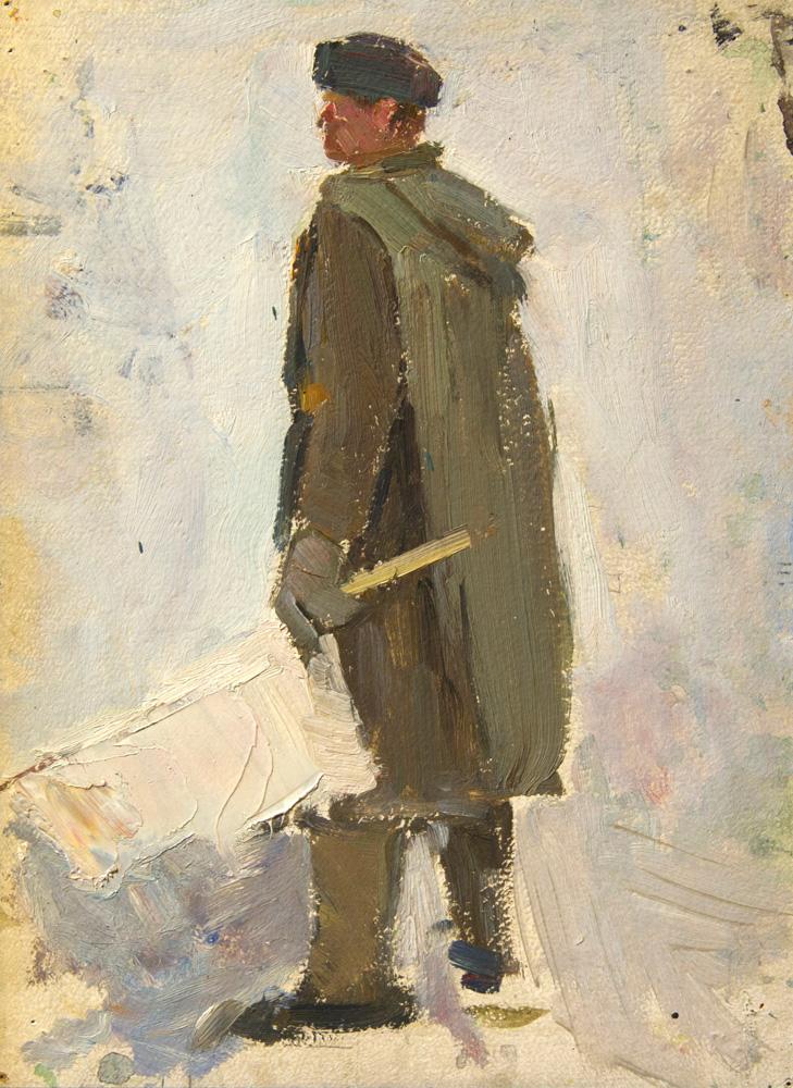Этюд к картине «Парламентер»