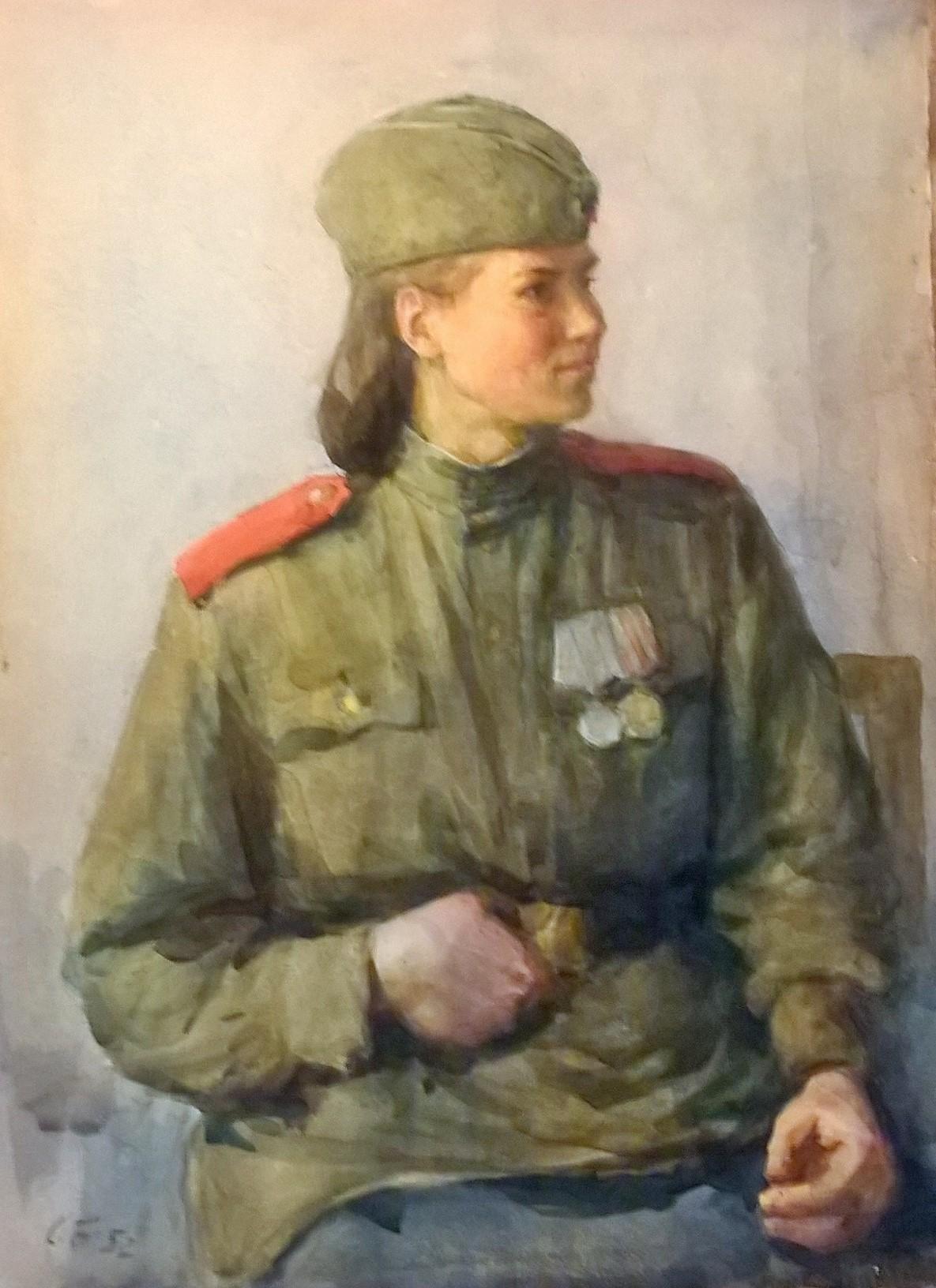 Портретный этюд.101