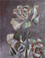"""Картина из серии \""""Розы в октябре\"""""""