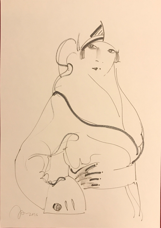 Дама 2