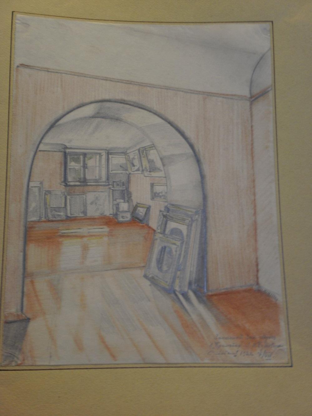 Запасный зал музея в «Прилепах» Я.И. Бутовича.