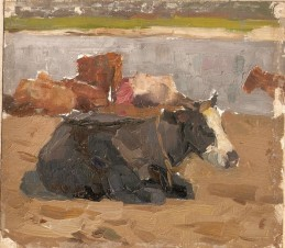Коровы у реки