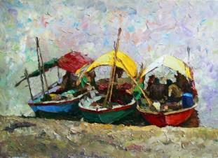 Гоа. Лодки