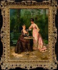 Дамы в оранжерее