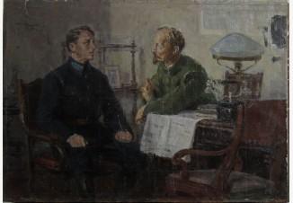 Дзержинский и летчик