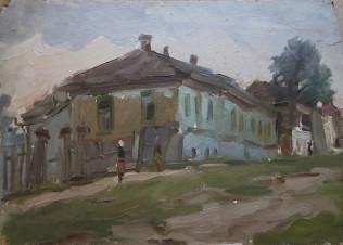 Улочка в Борисоглебске