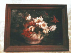 Полевые цветы в супнице