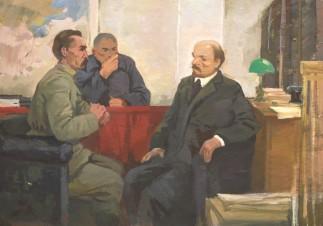 Дзержинский и Дижбит у Ленина