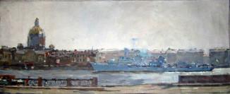 Корабли на Неве