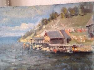 Утро. Река Волга
