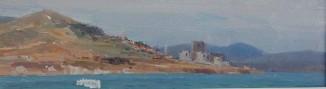 Старая крепость на берегу Дарданелл