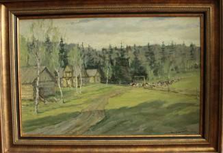 Край северной деревни