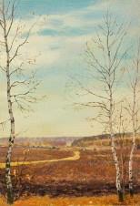 Осень. Деревня Черноморье